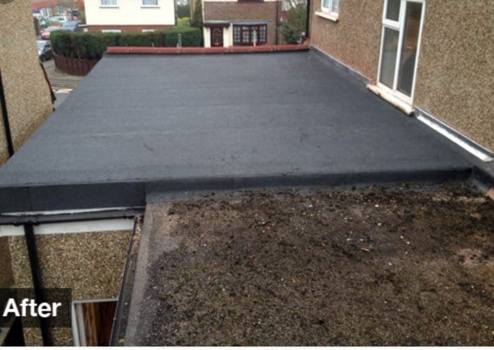 Flat Roofing Detached House Dublin 6
